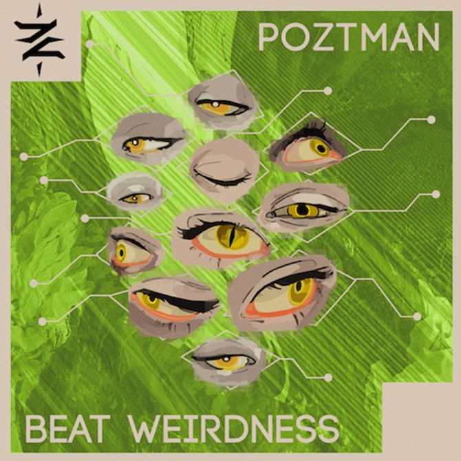 Electronic sample pack beat weirdness